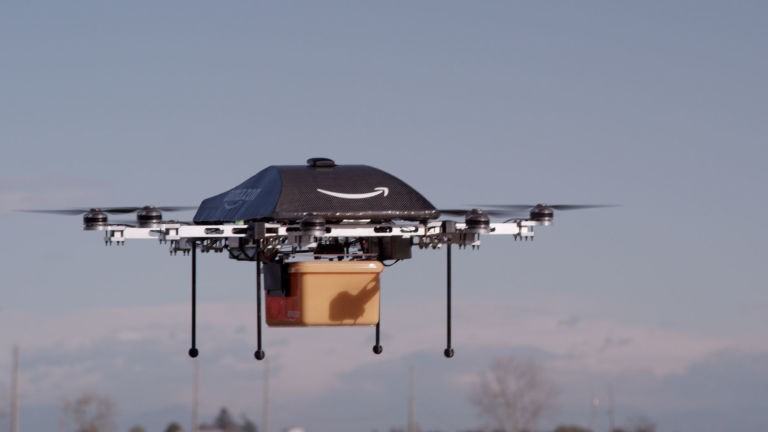 Amazon Prime Air - Amazon Drone Delivery System