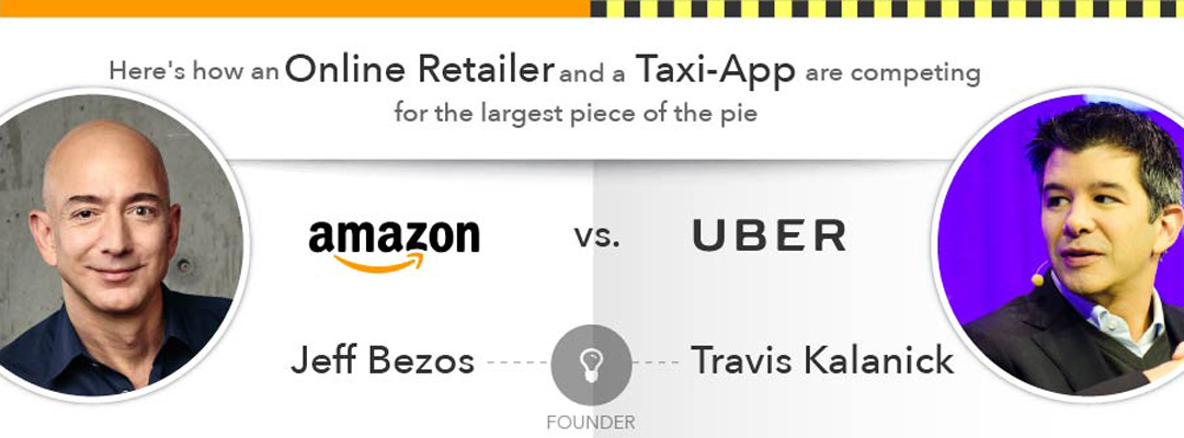 Uber and Amazon transforming logistics industry