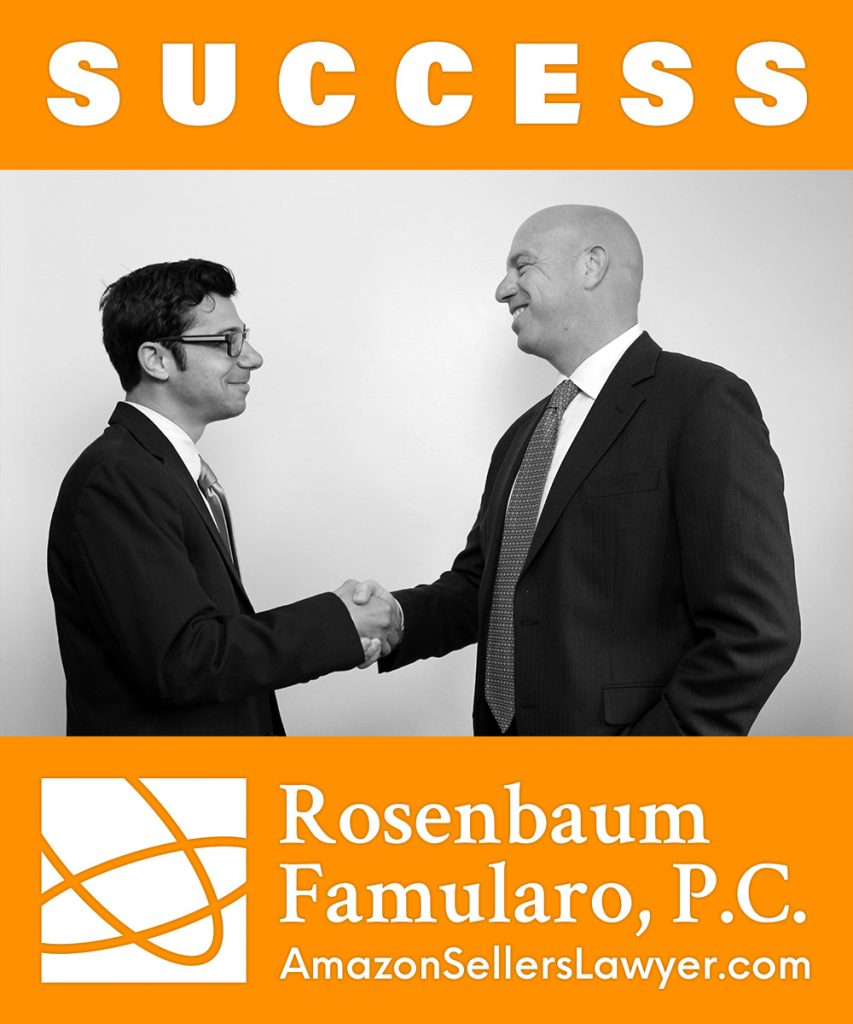 Amazon Sellers Lawyer Success