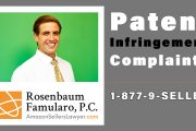 patent infringement complaints