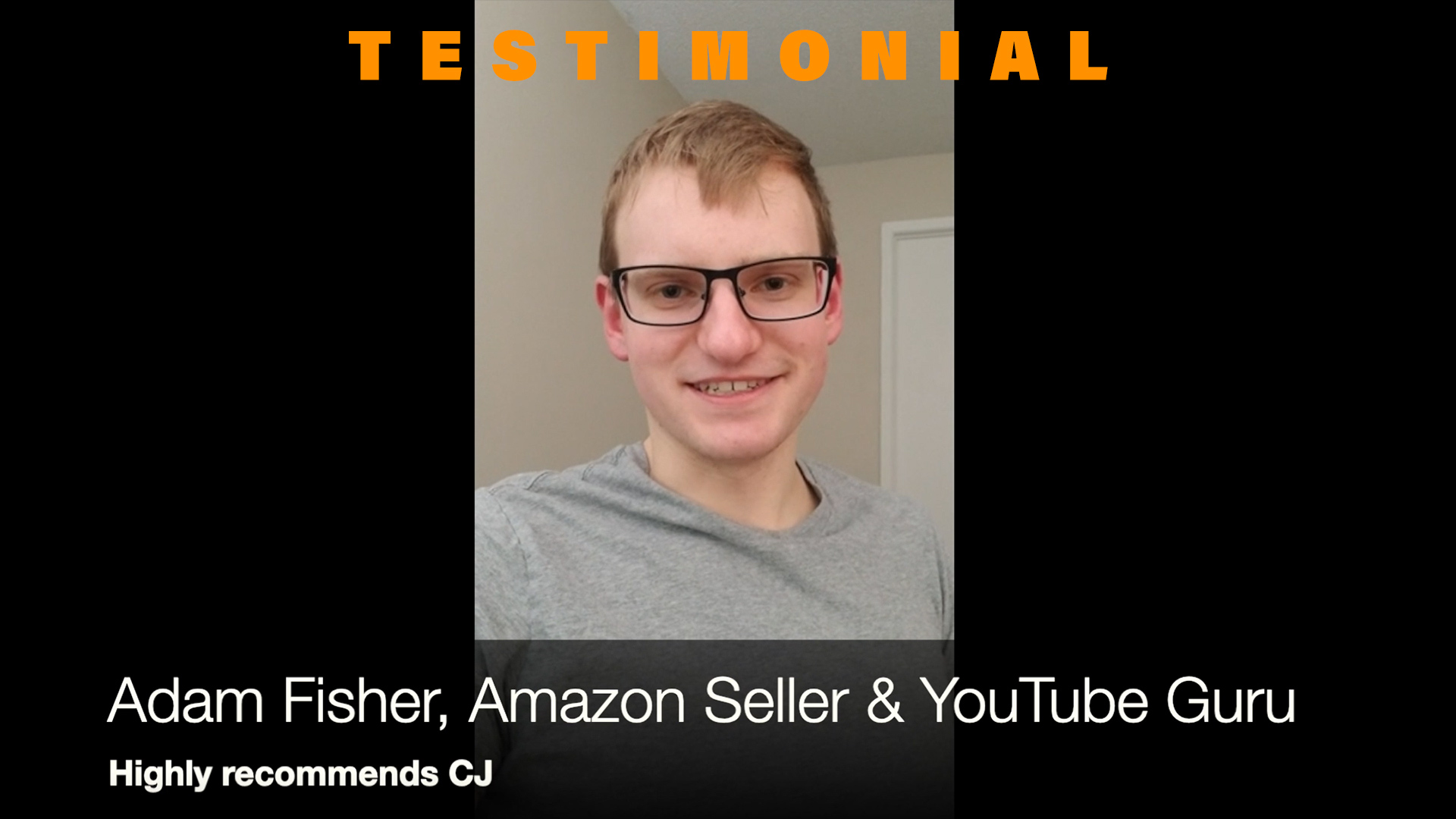 Amazon Seller Testimonial - Easy to Communicate With CJ