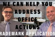 Office Action with a Trademark Application