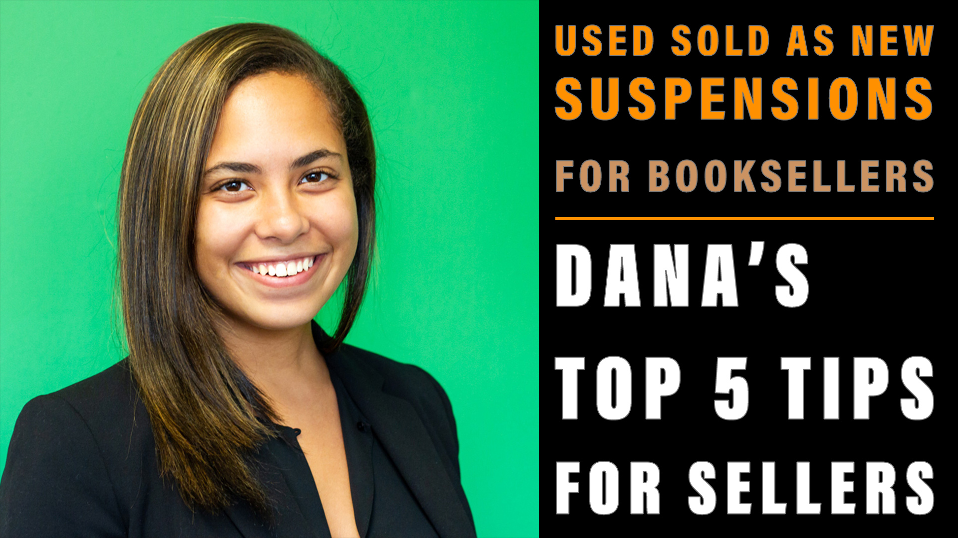 Used Sold as New Suspensions for Booksellers